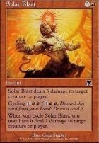 Onslaught Foil: Solar Blast
