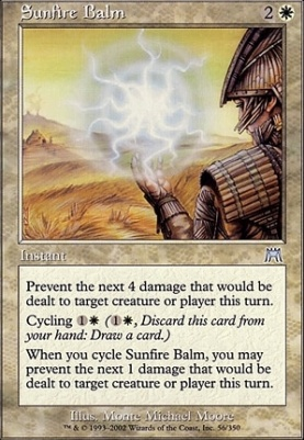 Onslaught Foil: Sunfire Balm