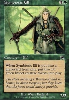 Onslaught Foil: Symbiotic Elf