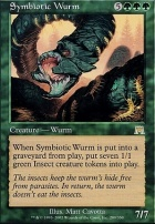 Onslaught Foil: Symbiotic Wurm