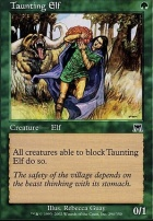 Onslaught Foil: Taunting Elf