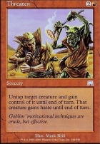 Onslaught Foil: Threaten