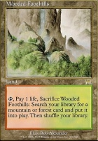 Onslaught Foil: Wooded Foothills