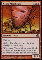 Planar Chaos: Aether Membrane