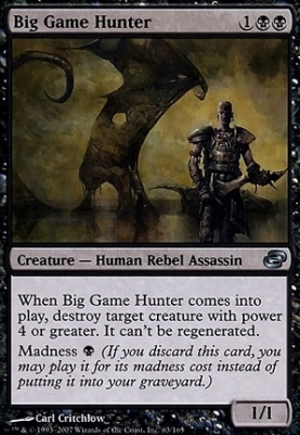 Planar Chaos: Big Game Hunter