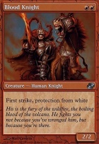 Planar Chaos Foil: Blood Knight
