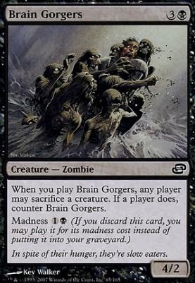 Planar Chaos: Brain Gorgers