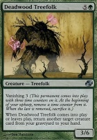 Planar Chaos Foil: Deadwood Treefolk