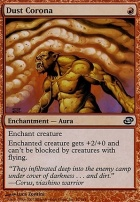 Planar Chaos: Dust Corona
