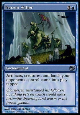 Planar Chaos: Frozen Aether