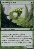 Planar Chaos Foil: Pouncing Wurm
