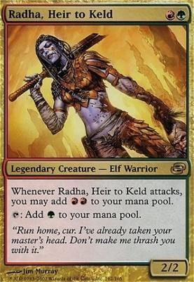 Planar Chaos: Radha, Heir to Keld