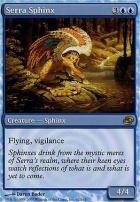 Planar Chaos Foil: Serra Sphinx