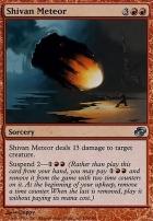 Planar Chaos Foil: Shivan Meteor
