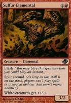 Planar Chaos: Sulfur Elemental