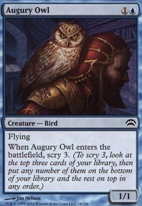Planechase 2012: Augury Owl