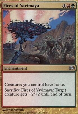 Planechase 2012: Fires of Yavimaya