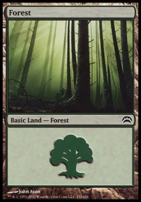 Planechase 2012: Forest (151 A)