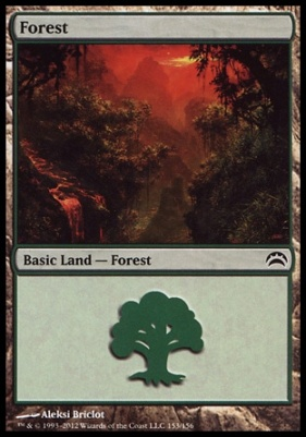 Planechase 2012: Forest (153 C)