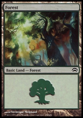 Planechase 2012: Forest (154 D)