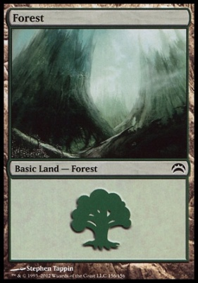 Planechase 2012: Forest (156 F)