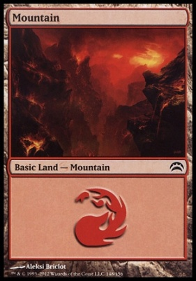 Planechase 2012: Mountain (148 B)