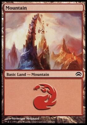 Planechase 2012: Mountain (150 D)