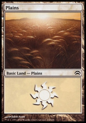 Planechase 2012: Plains (132 A)