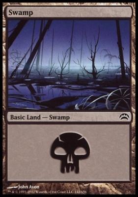 Planechase 2012: Swamp (142 A)