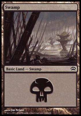 Planechase 2012: Swamp (144 C)