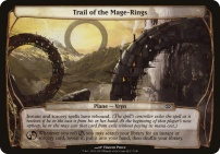 Planechase 2012: Trail of the Mage-Rings (Plane Oversized)