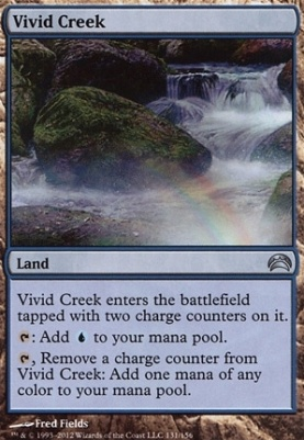 Planechase 2012: Vivid Creek