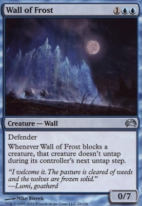 Planechase 2012: Wall of Frost