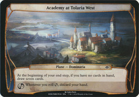 Planechase Anthology: Academy at Tolaria West (Plane Oversized)