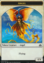 Planechase Anthology: Angel Token - Saproling Token