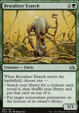 Planechase Anthology: Brutalizer Exarch