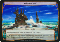 Planechase Anthology: Celestine Reef (Plane Oversized)