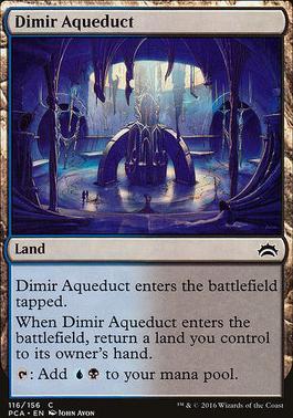 Planechase Anthology: Dimir Aqueduct