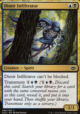 Planechase Anthology: Dimir Infiltrator