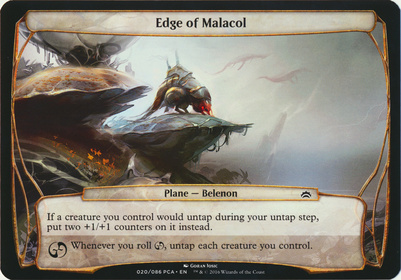 Planechase Anthology: Edge of Malacol (Plane Oversized)
