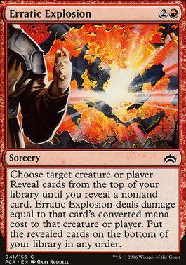 Planechase Anthology: Erratic Explosion