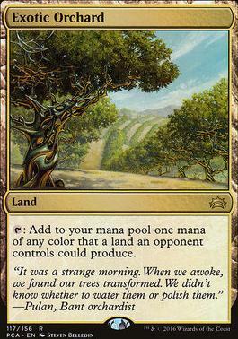 Planechase Anthology: Exotic Orchard