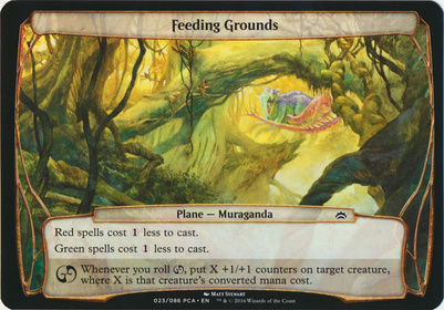 Planechase Anthology: Feeding Grounds (Plane Oversized)