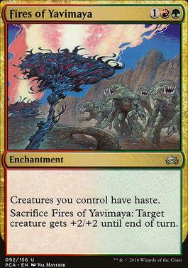 Planechase Anthology: Fires of Yavimaya