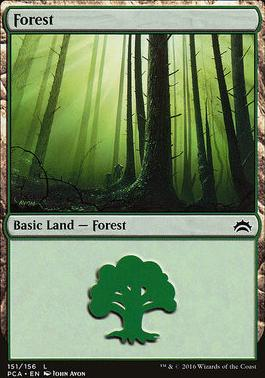 Planechase Anthology: Forest (151 A)