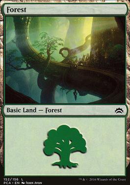 Planechase Anthology: Forest (152 B)