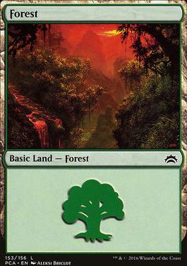 Planechase Anthology: Forest (153 C)