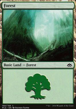 Planechase Anthology: Forest (156 F)