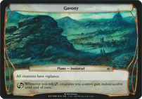 Planechase Anthology: Gavony (Plane Oversized)