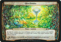 Planechase Anthology: Glen Elendra (Plane Oversized)